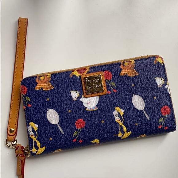 Dooney Bourke Bags Dooney Bourke Beauty And The Beast Wallet Poshmark